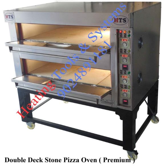 double deck stone pizza oven , 2 deck stone pizza oven india , electric pizza oven