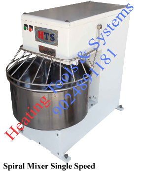 Single Speed Spiral MIxer, Manufacturers in India